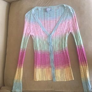 Missoni Long Sleeve Cardigan